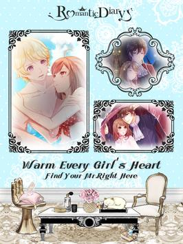 Romantic Diary: Anime Dress Up apk screenshot