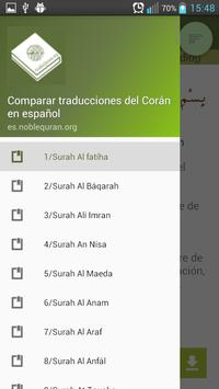 Compare traducciones del Corán poster
