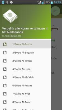 Vergelijk Koran vertalingen poster