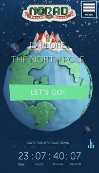 NORAD Tracks Santa poster