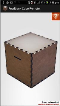 Feedback Cube Remote 海報