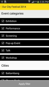 Our City Festival 2014 apk screenshot