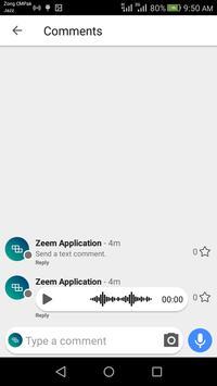 Zeem screenshot 2
