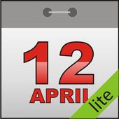 T-calendar lite icon