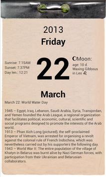 T-calendar lite poster