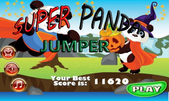 Super Panda Jumper poster
