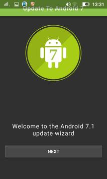 Update To Android 7 apk screenshot
