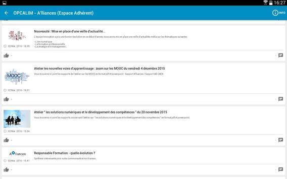 OPCALIM A'lliances screenshot 3