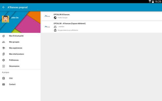 OPCALIM A'lliances screenshot 2