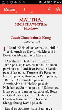 Hakha Bible poster