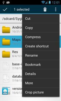 OI File Manager imagem de tela 1