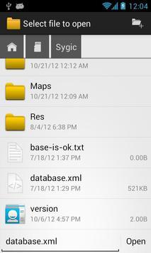 OI File Manager imagem de tela 2