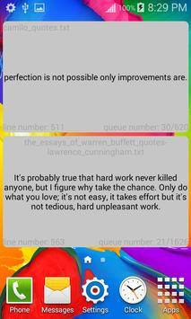 Random Quotes Widget apk screenshot