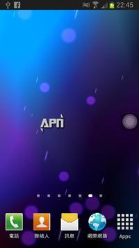 APN on/off poster