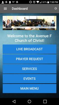 Avenue F Church of Christ screenshot 1