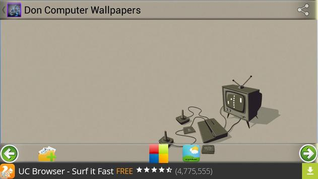 Don Computer Wallpapers apk screenshot