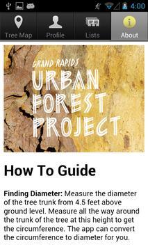 Grand Rapids Tree Map screenshot 5
