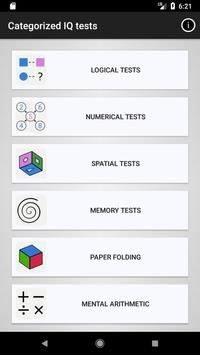 IQ and Aptitude Test Practice poster