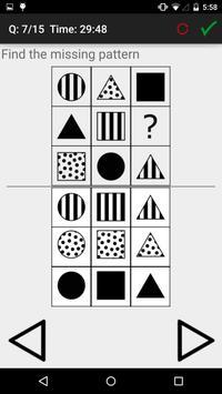 IQ and Aptitude Test Practice apk screenshot