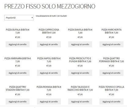 Pizzeria da Alice - Via Palestro 89 Ferrara screenshot 2