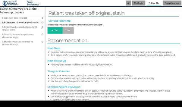 Statin Intolerance screenshot 10