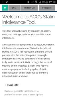 Statin Intolerance screenshot 1