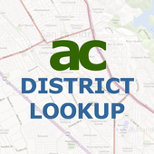 Alameda County District Lookup icon