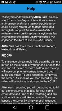 ACLU Blue apk screenshot
