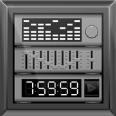 player with parametric equalizer & surround icon
