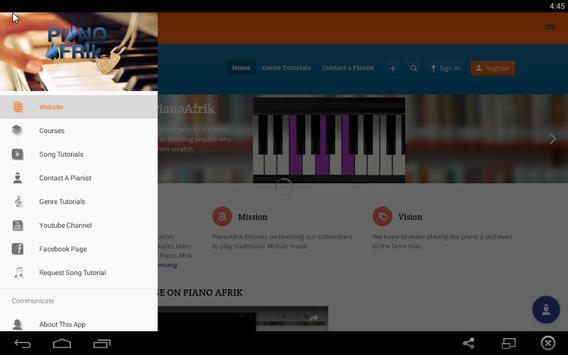 Piano Afrik App apk screenshot