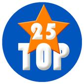 Top 25 icon