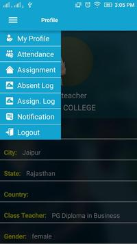 College Education Admin apk screenshot