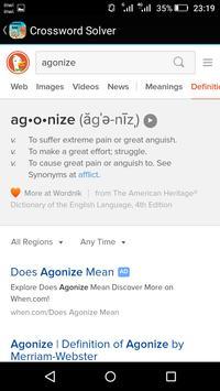 Crossword solver screenshot 4