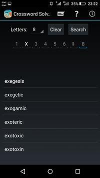 Crossword solver screenshot 5