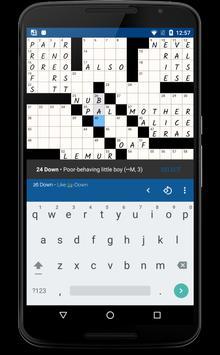 alphacross Crossword apk screenshot
