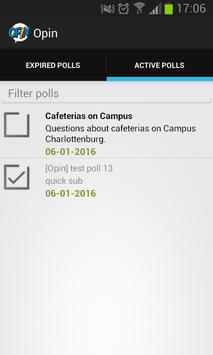 Opin apk screenshot