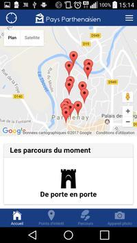 Parthenay Visite Patrimoine apk screenshot