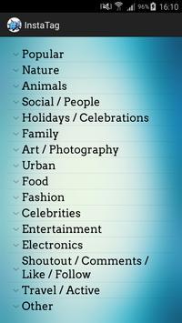 InstaTags For Social apk screenshot
