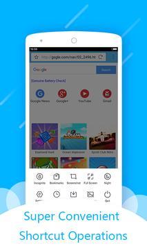 Amazing Browser apk screenshot