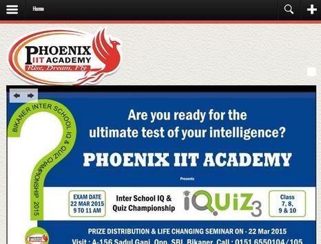 Phoenix IIT Academy screenshot 1