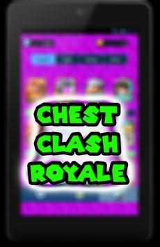Gems Chest For Clash Royale :Ultimate Cheats prank screenshot 1