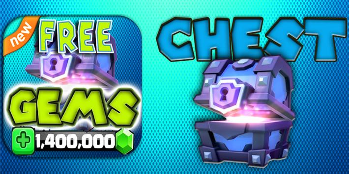 Gems Chest For Clash Royale :Ultimate Cheats prank screenshot 8