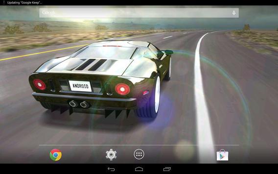 3D Car Live Wallpaper Free Apk Screenshot