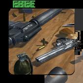 3D Guns Live Wallpaper Free icon