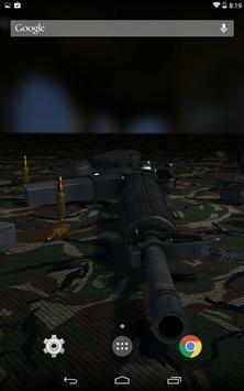 3D Guns Live Wallpaper Free screenshot 4
