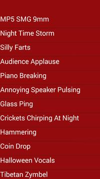 annoying sounds apk screenshot