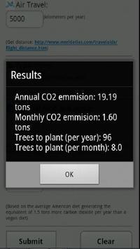 CO2 Emission Calculator screenshot 2