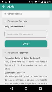 Doa Nota Paraná apk screenshot