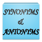 English Synonyms & Antonyms icon