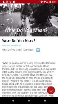 Justine Bieber Songs Discography screenshot 5